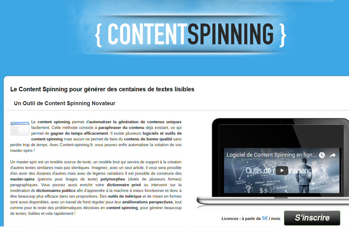 Content-Spinning.fr