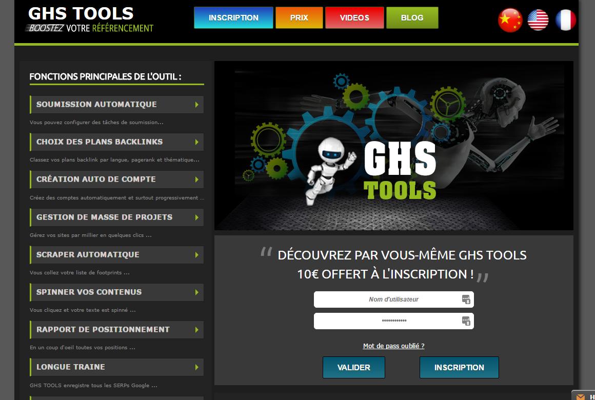 GHSTools.fr